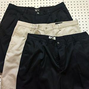 Bundle of 3 Golf Shorts, Size 38